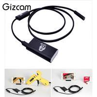Gizcam HD 720P 8mm Lens WIFI Endoscope Camera 1m Cable 6 LED Snake Tube Pipe Borescope