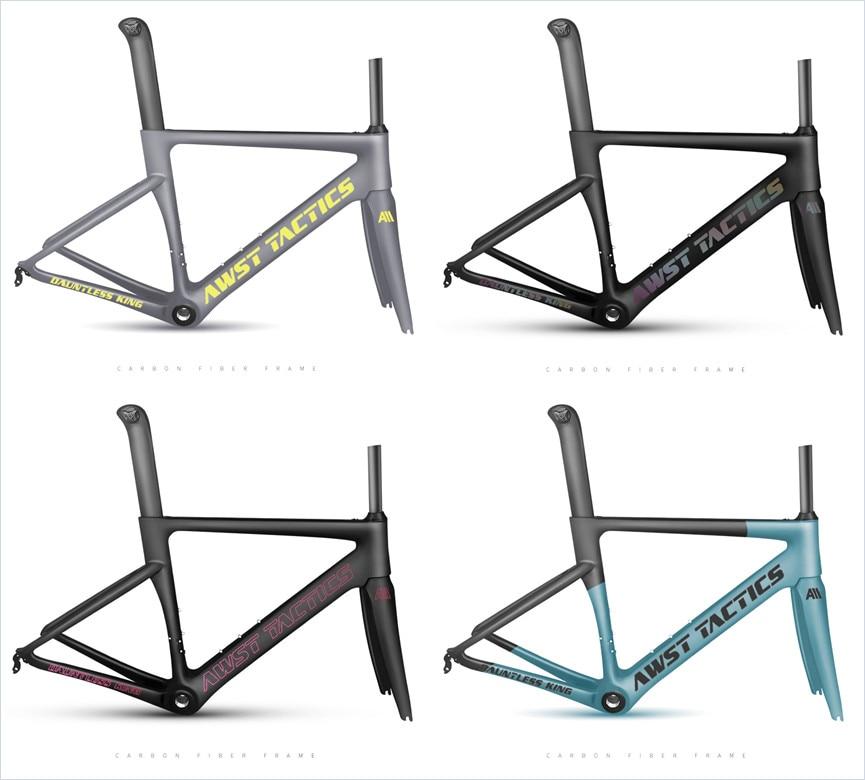 OEM / ODM Factory Bike Frame Taiwan Aero Carbon Frame Road Bike Road Racing Bike Frame TT Carbon Frame Bicycle Cycling Frameset