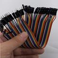 40 pcs Dupont jumper cabo de linha dupont masculino para feminino linha dupont 20 cm Frete Grátis