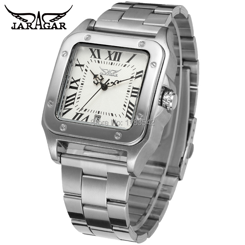 New Winner Casual Automatic Watches Men Hot sale  Automatic fashion Men Watch stainless steel Shipping Free WRG8073M4S1 hot sale free shipping 2015 new men s summer sandals