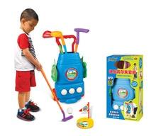 On Stock Hotsale parent-child interactive games Kindergarten children's indoor golf clubs set baby outdoor sports toys Kids Toys