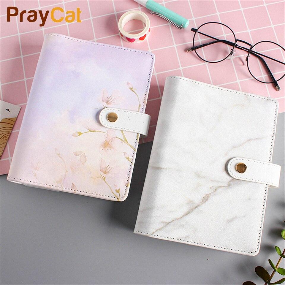 A6 Marble Notebook Leuke Kawaii Dokibook Planner Notitieblok DIY - Notitieblokken en schrijfblokken bedrukken