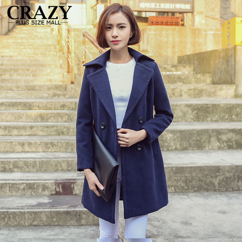 Popular Blue Wool Coats-Buy Cheap Blue Wool Coats lots from China