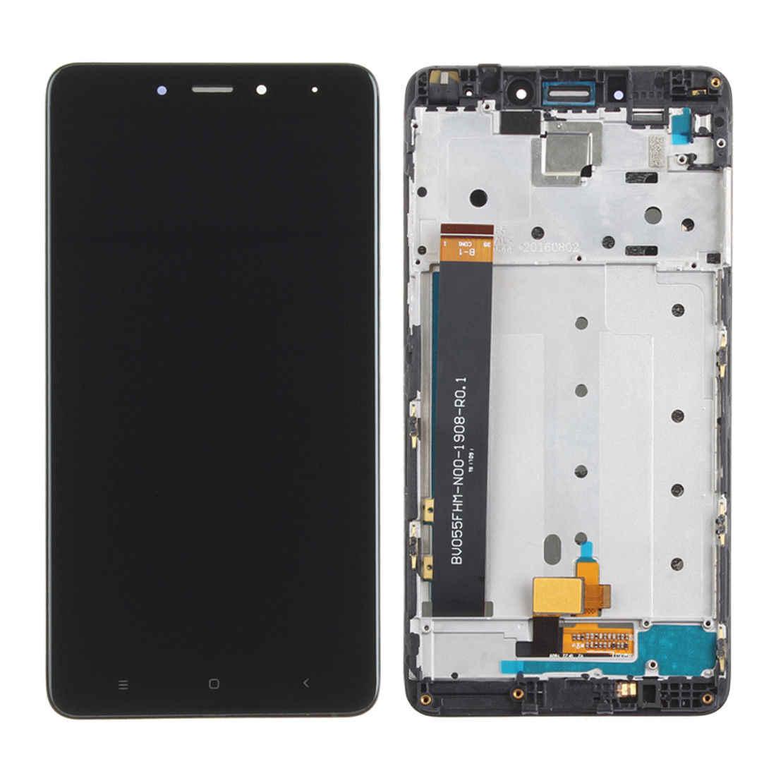 5.5 بوصة العرض الأصلي ل شاومي Redmi نوت 4 LCD محول الأرقام بشاشة تعمل بلمس مع الإطار LCD لعرض شاومي Redmi نوت 4