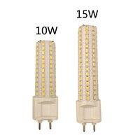 G12 светодиодный светильник-кукуруза 10 Вт 1000ЛМ 15 Вт 1500лм SMD2835 светодиодный светильник ультра яркий AC85-265V светильник высокой яркости ing