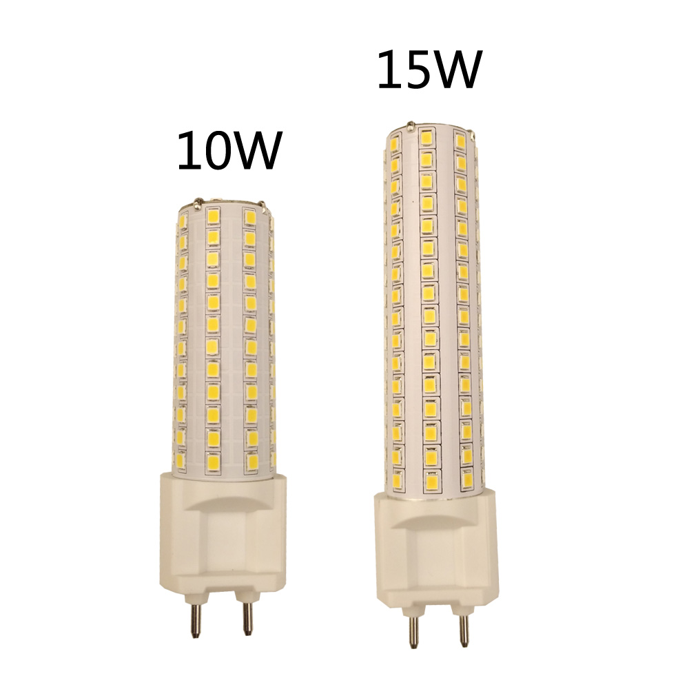 G12 LED maíz luz 10W 1000LM 15W 1500LM SMD2835 bombillas Led lámpara Ultra brillante AC85-265V iluminación de alto brillo LED exterior impermeable fuente de alimentación DC12V 60W 120W 200W 250W 400W DC24V LED controladores de iluminación transformadores