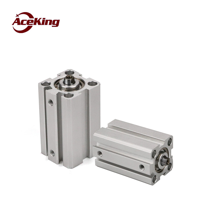 Sda cylinder small pneumatic yadeke type SDAD thin cylinder SDA12 16 20 25 32 40 50 63 80 100x5 10 20 25 30 40 50 SxB in Pneumatic Parts from Home Improvement