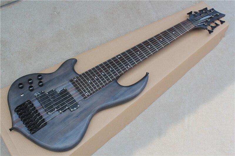 Livraison gratuite Usine personnaliser Boutique Nouvelle Arrivée 8 cordes basse guitare droitier basse gaucher basse