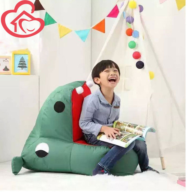 Louis Fashion Children Chair For Kids Single Small Hippo Bean Bag Sofa Bedroom Baby