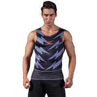 Readypard Man Vest Tan Top Sport Bodybuilder Plus Size Newest Compression Uniforms Black Cloth Quick Dry