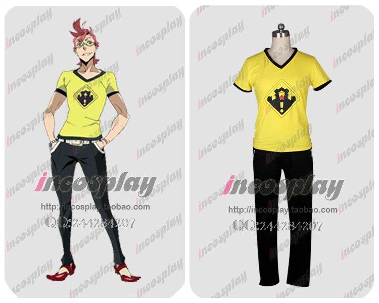 Kiznaiver Tenga Hajime Cosplay Costume Custom Any Size