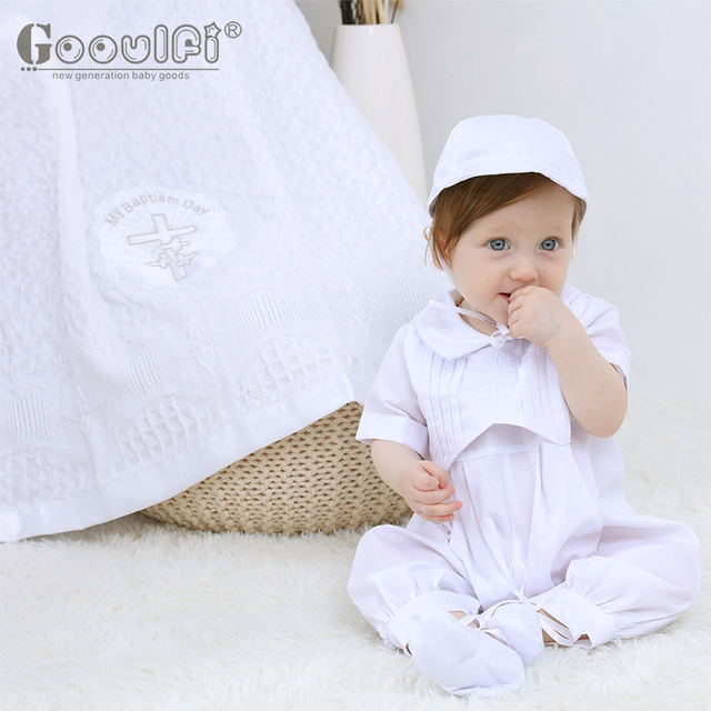 Gooulfi christening baby blankets baptism soft kids acrylic infant blankets newborn swaddle baby bath winter gift blanket