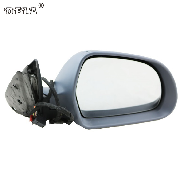 Car Mirror For Skoda Octavia A6 MK2 2009 2010 2011 2012 2013 Car-Styling Heated Electric Wing Side Rear Mirror Right Side 2 pcs for skoda octavia superb front turn signal light left and right side wing mirror indicator lamp 3t0 949 101 3t0 949 102