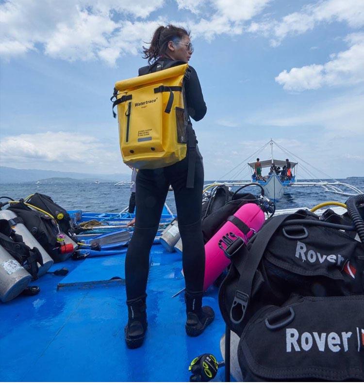 Waterproof backpack Scuba Diving Bag River Trekking