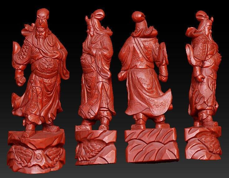 Heerlijk 3d Model Voor Cnc 3d Gesneden Figuur Sculptuur Machine Stl Bestand Formaat Chinese Historische Figuur Guan Yu Geurige (In) Smaak