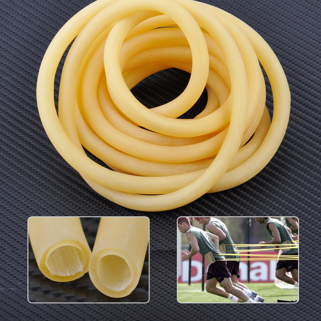 3M 6mm X 9mm Natural Latex Tube Elastic Rubber Bands Slingshot Catapult Surgical