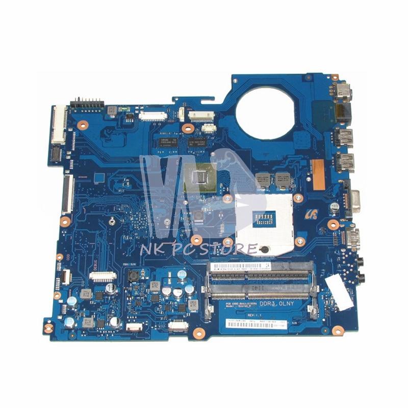 NOKOTION Pour Samsung RV520 Ordinateur Portable Carte Mère HM65 DDR3 GT520M Discrets Graphcis BA92-08186A BA41-01608A