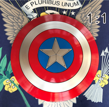 Version The Avengers 57cm Captain America Shield 1:1 Rogers ABS Metal Shield Movie Cosplay Halloween Prop/Gift/Replica недорого