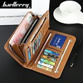 Baellerry Quality Product Portefeuille Homme Korean Design Men Wallet PU Leather Long Purse Credit Card Holder Purses Money Bag