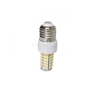 10X Wholesale high quality 120led 3528SMD E27 110V / 220V 6W led corn light free shipping