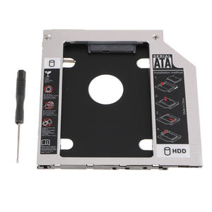 Hard-Drive-Adapter for Laptop CD DVD Optical-Drive Bay-Bracket 3rd SATA Black High-Quality