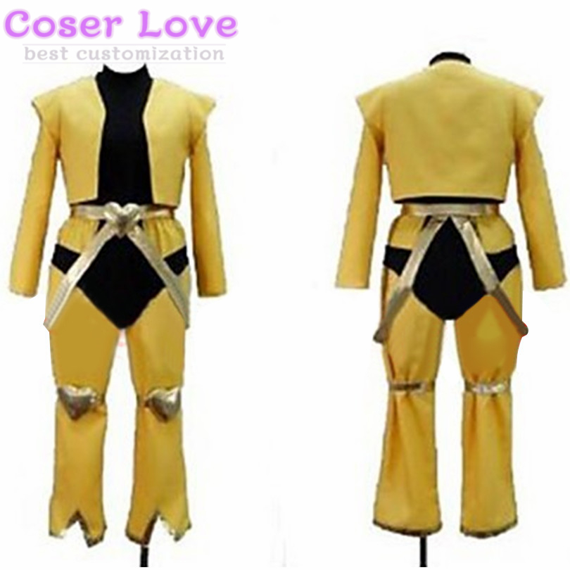 JoJo/'s Bizarre Adventure Dio Brando cosplay costume yellow with headband  {4}