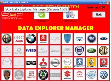 ECU SCP Data Explorer Manager Full+crack