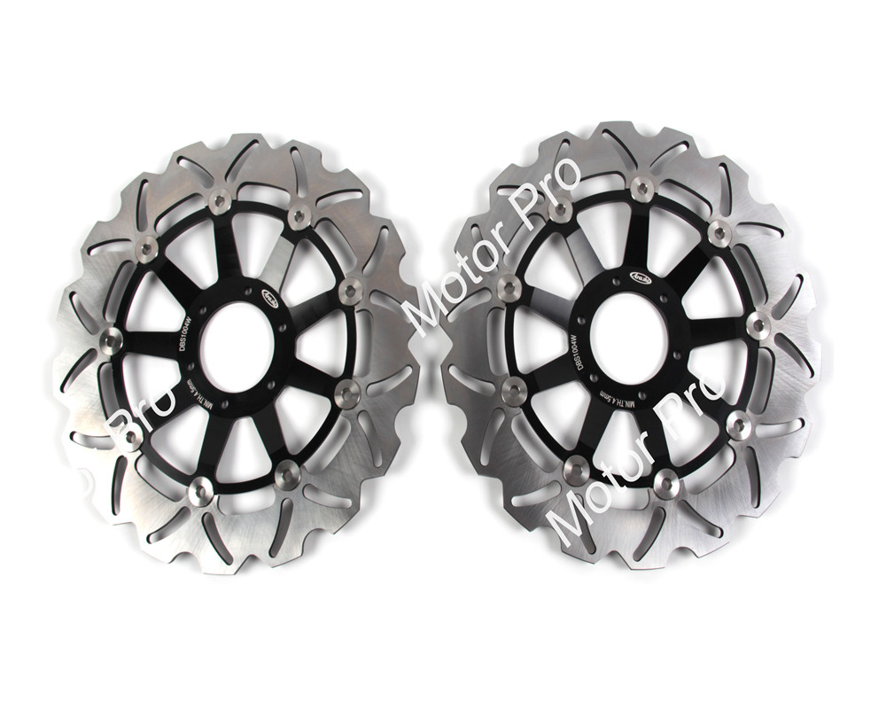 2 PCS CNC Motorcycle Front Brake Disc FOR HONDA XLV VARADERO 1000 1999 2000 2001 2002 2003 2004 2005-2011 ABS brake disk Rotor hot sales for honda vtr1000f 97 05 1997 1999 2000 2001 2002 2003 2004 2005 vtr1000 f vtr 1000 f 1000f full red fairings