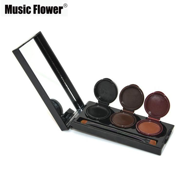2018 Music Flower Brand Maquillaje Delineador de ojos en gel y en - Maquillaje - foto 4