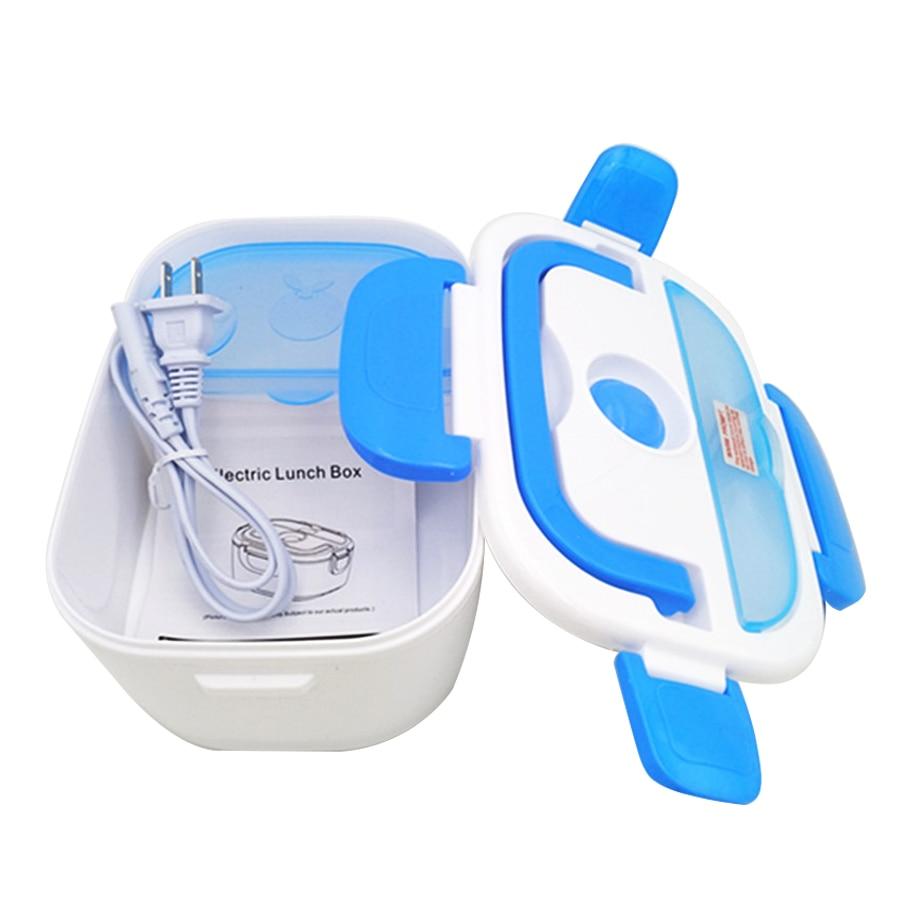 Портативный Электрический нагревательный Ланч-бокс пищевой контейнер для еды подогреватель пищи для детей 4 пряжки наборы посуды