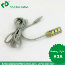 Free shipping High quality DC5V S3A Sewing accessories light LED working and table desk lamp brightness adjustment sewing light