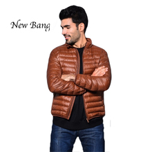 White Duck Down Jacket Men's Jacket Ultralight Down Jacket Outdoors Stand Collar Winter Parka With Carry Bag veste hiver homme