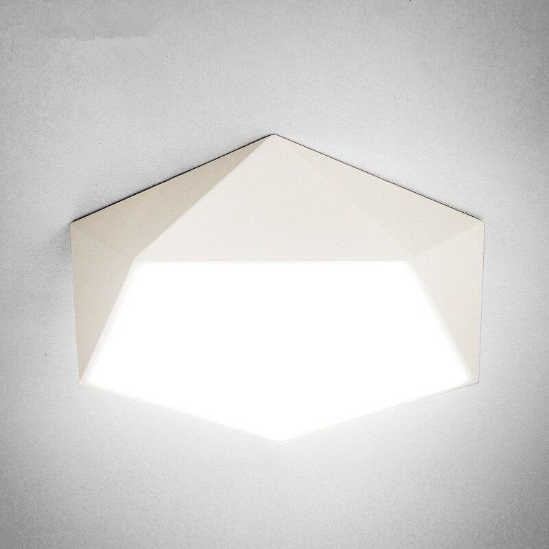 Modern Geometry LED Ceiling Lamp Dome Light E27 Kids Room Lamp Ceiling  Lights Living Room Light