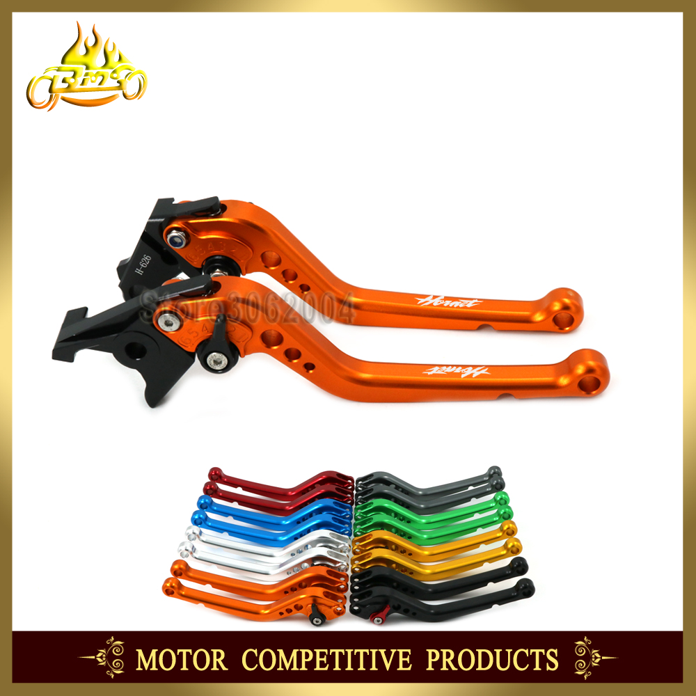 Adjustable Short/Long Brake Clutch Levers Motorcycle Accessories For <font><b>HONDA</b></font> CB <font><b>600</b></font> CB600 <font><b>HORNET</b></font> 1998-2006 <font><b>2005</b></font> 2004 2003 2002 CNC image
