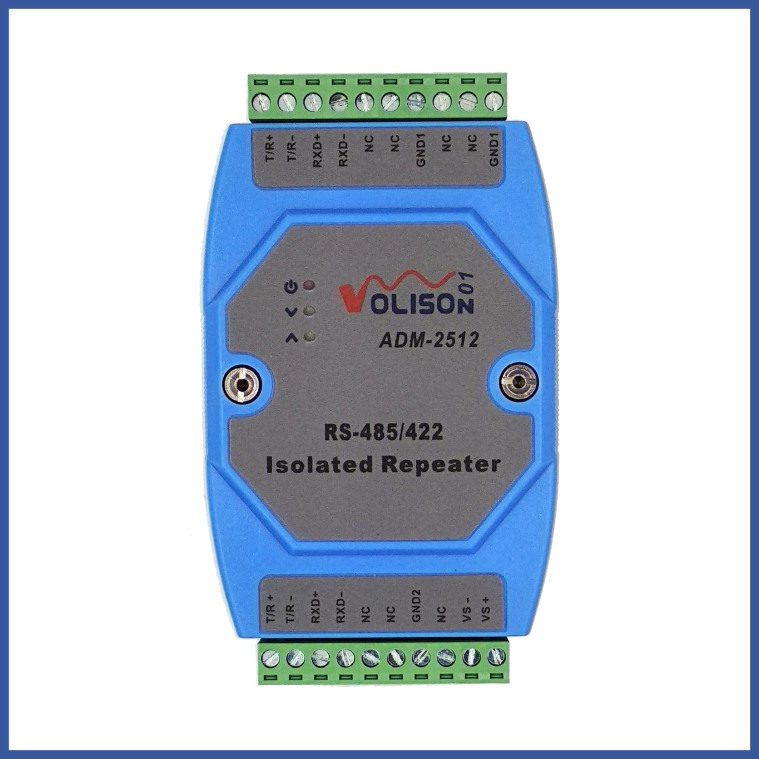 Photoelectric Isolation RS485 Repeater Rs485/422 Amplifier RS422 to 485 Isolator Industrial Level