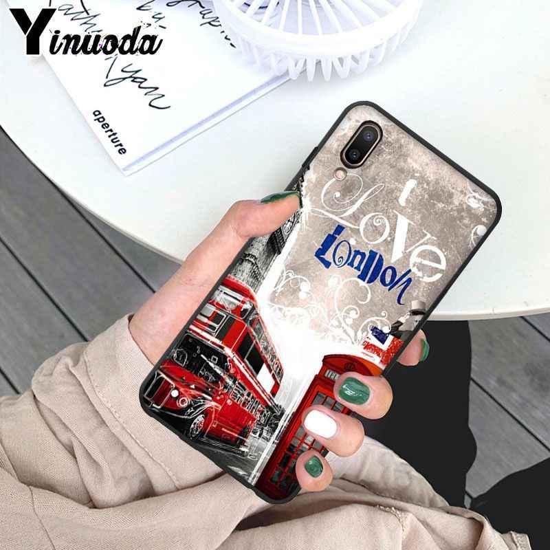 Yinuoda London big ben Bus Customer High Quality Phone Case for ViVo X 23 X 21 X 21 UD X9 X9S X9S Plus Mobile Cases