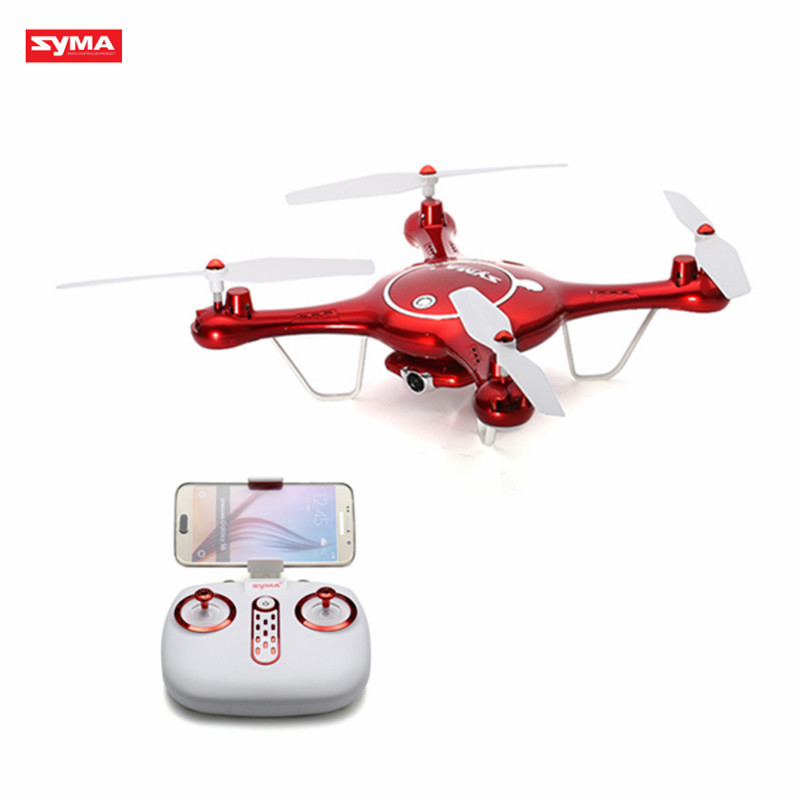SYMA X5UW FPV RC Quadcopter WIFI Camera HD Mobile Control,Path Flight,Height Hold,One Key Land 2.4G 6-Axis RC Helicopter RTF jjr c jjrc h43wh h43 selfie elfie wifi fpv with hd camera altitude hold headless mode foldable arm rc quadcopter drone h37 mini