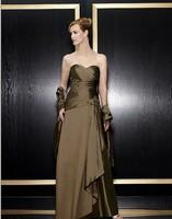 Vestidos דה הפסטה ארוך מקסי משלוח חינם 2018 עיצוב חדש בתוספת טפטה ערב מסיבת שמלה אלגנטית