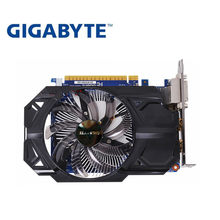 GIGABYTE ekran kartı orijinal GTX 750 Ti 2GB 128Bit GDDR5 kartları nVIDIA Geforce GTX 750Ti Hdmi Dvi kullanılan VGA kartları