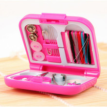 FS5 Portable Travel Sewing Kits Needle Threads Box Thimble Threads Home Tools Variety of sewing tool