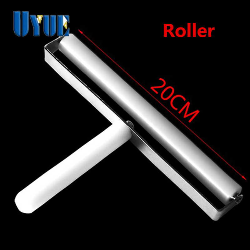 UYUE 20cm Manual Screen Roller for LCD, OCA Film Roller, Laminating OCA On LCD for Mobile, Lcd Separator Machine White  цены