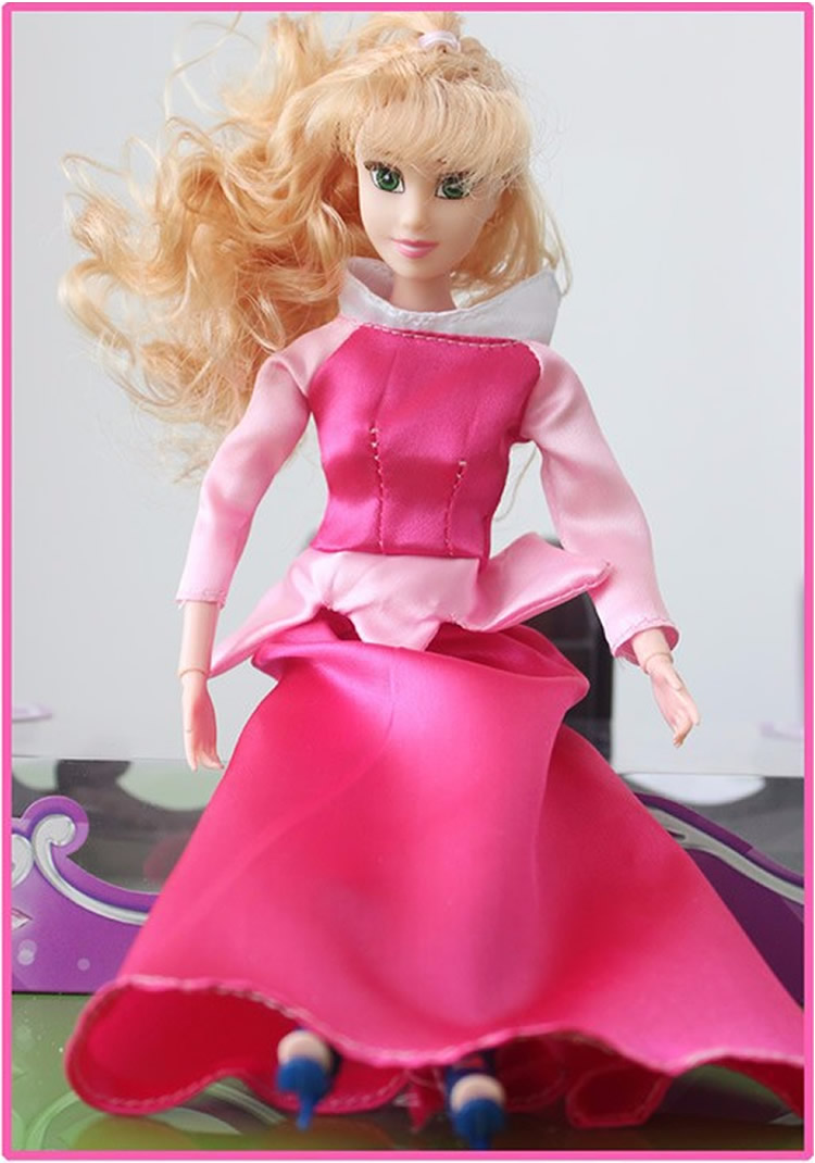 ᗑ】Princesa juguetes muñecas niña Rapunzel moda de hadas 12 Cuerpo ...