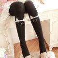 2016 nova outono inverno menina magro algodão meias opacas meias moda calças justas bonito cat calças justas das mulheres acessórios de vestuário