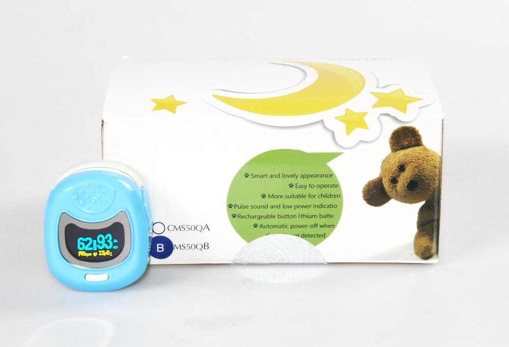 Monitor de Oxigênio Pediátrica no Sangue Crianças Spo2