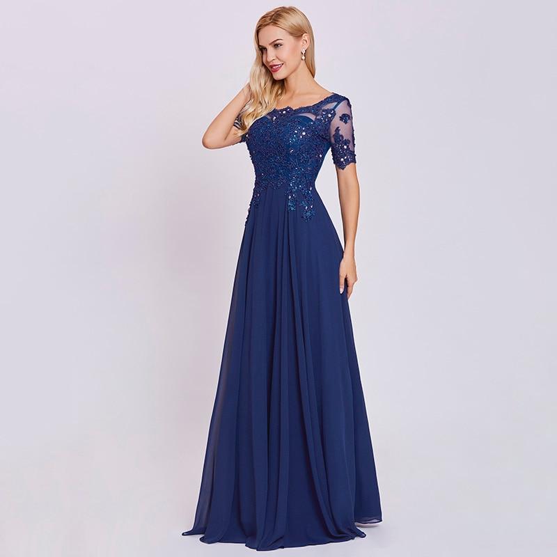4da36ac9e Vestido de noche largo azul real oscuro vestido de noche barato de ...