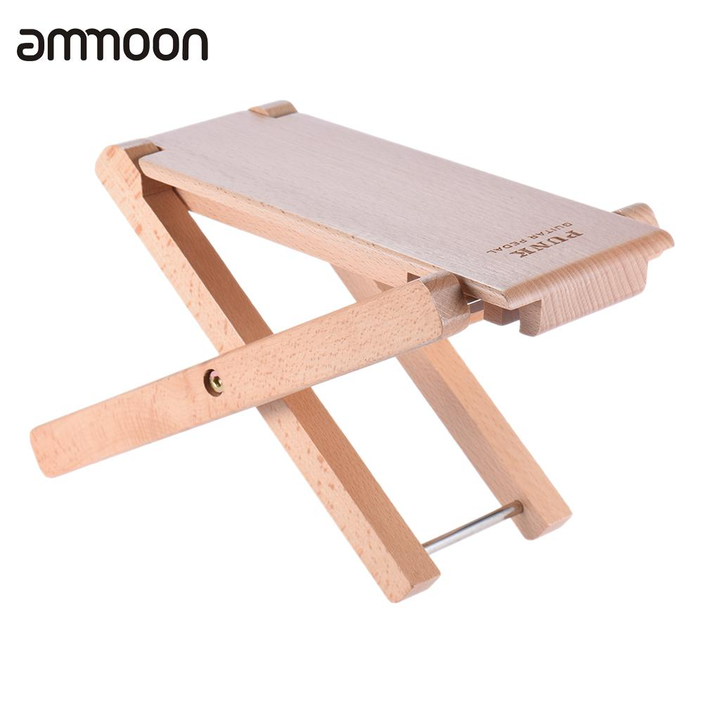 Wooden Foot Stool Footrest Rest With Carrying Bag For Guitar Parts Accessories Sports & Entertainment Stringed Instruments