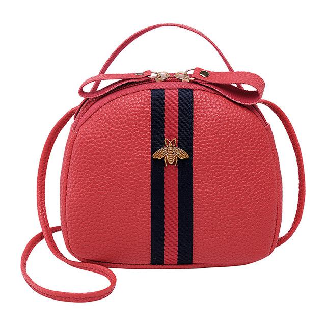 2019 Circular Design Fashion Women Shoulder Bag Leather Women's Crossbody Messenger Bags Ladies Purse Female Round Bolsa Handbag