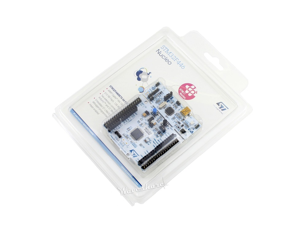 STM32 Development Board NUCLEO-F446RE, STM32 STM32F446RET6 MCU, supports Arduino xilinx fpga development board xilinx spartan 3e xc3s250e evaluation board kit lcd1602 lcd12864 12 modules open3s250e package b
