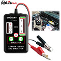 Universal Automotive Lambda Tester&Simulator Test 1,2,3 and 4 Wires Sensors Durable ABS Enclosure Low Battery EM272