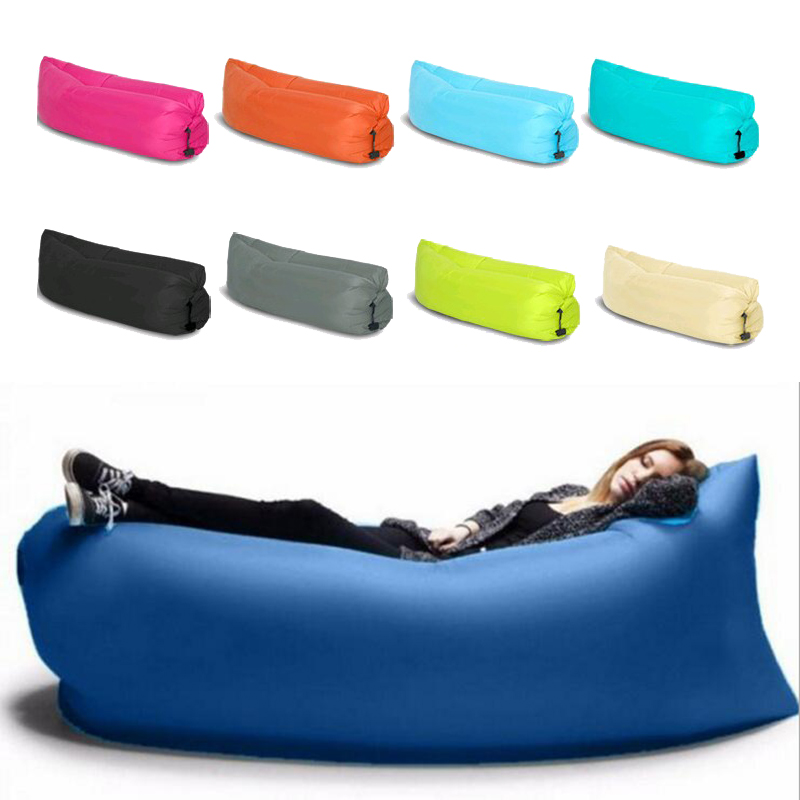 Online Buy Wholesale lazy bag from China lazy bag  : Fast inflatable air sofa 100 waterproof Sleeping font b Bag b font Air Sofas Camping Beach from www.aliexpress.com size 800 x 800 jpeg 203kB